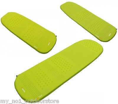 Vango Aero Lightweight Self Inflating Camping Sleeping Mat - Green