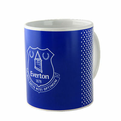Official Licensed Football Product Everton Mug Fade Cup Tea Coffee Gift Box New