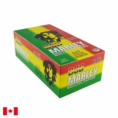 Bob Marley Pure Hemp 1 1/4 Rolling Papers - 1 Box 50 Booklets