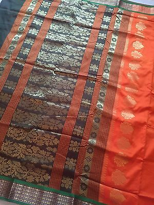 Indian Banarasi Sari / Kanchipuram /  Fancy / Katan Saree 89990