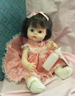 "Vintage 1965 Madame Alexander Sweet Tears 12"" Doll w/ Pacifier & Tags Orig Box"