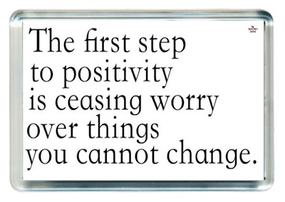 First 1st Step Start Begin Positive Cease Worry Change Quotes Saying Gift Novelt