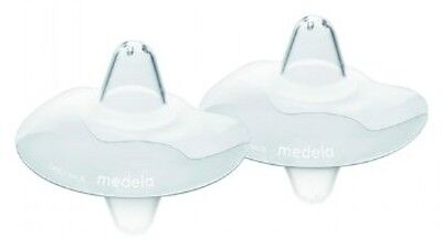 Medela 24 Mm Contact Nipple Shields With Case (Large)