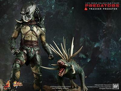 HOT TOYS 1/6 PREDATORS Tracker w/ hound Predator MMS 147 action figure NIP