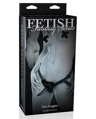 Fetish Fantasy Limited Edition The Pegger w/Straps Strap On Strap-on - Black