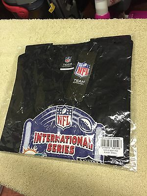 New With Tags Official NFL Miami Dolphins Vs Raiders T-shirt