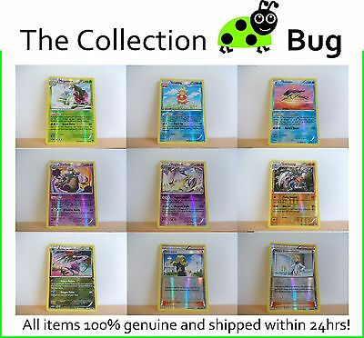 Pokemon XY BREAKpoint : Pick From List : Parallel Foil Reverse Holo Cards 1-60