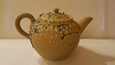 Japanese Late 19th /Early 20th Century Porcelain Teapot Enamel Decoration