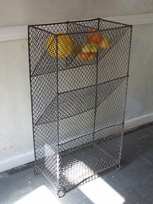 Large old wire work vegetable rack
