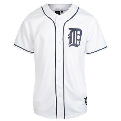 Majestic MLB Detroit Tigers Men's Replica Jersey White
