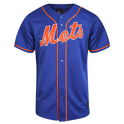 Majestic MLB New York Mets Men's Replica Jersey - Royal