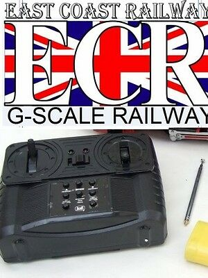 BRAND NEW G SCALE 45mm Gauge RC LOCO TRANSMITTER CONTROLLER & AERIAL ANTENNA