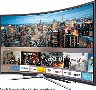 samsung ue55k6379suxzg curved led fernseher 138 cm 55 zoll 1080p full hd eur 825 00. Black Bedroom Furniture Sets. Home Design Ideas