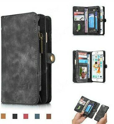 7 Wallet  Flip Case Cover For Apple iPhone 6 6s 7 plus Samsung Galaxy s7 edge