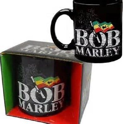 * Bob Marley - Flag Logo - Official Boxed Mug