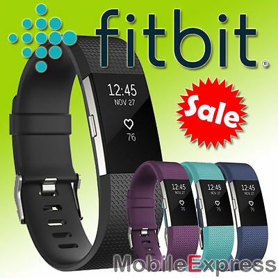 GENUINE Fitbit Charge 2 HR Activity Tracker Sleep Fitness Wristband Pedometer