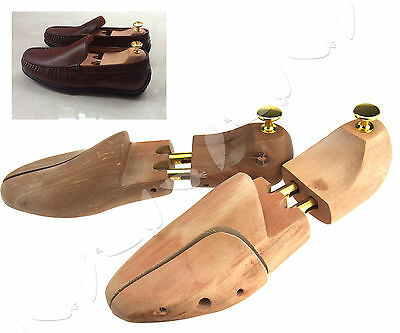 Pair of Shoe Tree Stretcher Cedar Wood Wooden Shaper  Different for choose