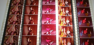 Disney's - Sleeping Beauty-  Rare Unmounted 35mm Film Cells - 5 Strips