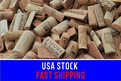 Used Pre-Cut Wine Corks for Crafts Multi Listing 50-100-200-400 Halves WineCorks