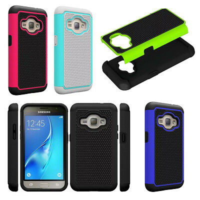 Dual Layer Drop Shock Proof Heavy Duty Hard Rubber Case Cover For Samsung Galaxy
