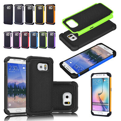 Chic Heavy Duty Tough Drop Shock Proof Hard Rubber Case Cover For Samsung Phones