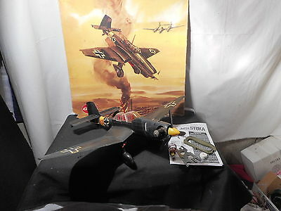 Cox 049 Black Stuka Airplane
