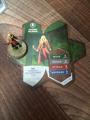 Heroscape Sharwin Wildborn - D1 (Wave 11) Champions of the Forgotten Realms