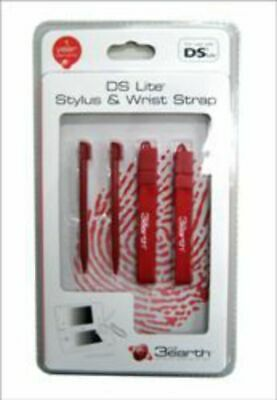 DS Lite Stylus & Wrist Strap Twin Pack NEW