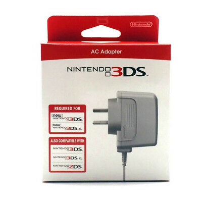 New Nintendo 3DS, 3DS XL, 3DS and 2DS  Power Charger AC Adapter