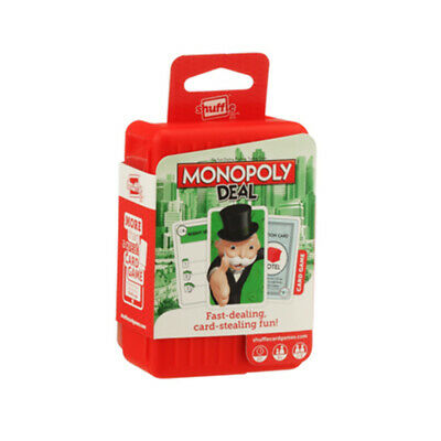 Shuffle Monopoly Deal Card Game NEW