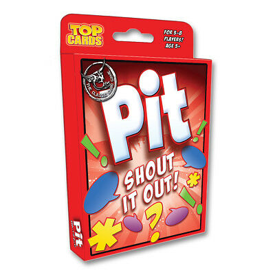 Pit Shout it Out Card Game NEW