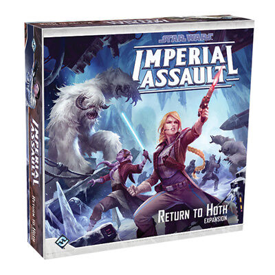 Star Wars Imperial Assault Return to Hoth Expansion Board Game NEW