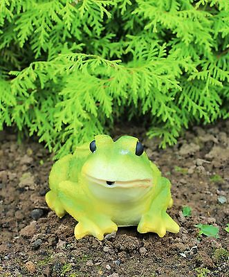 Solar Powered Decorative Garden Ornament Animal  Light Up Talking Frog Toad