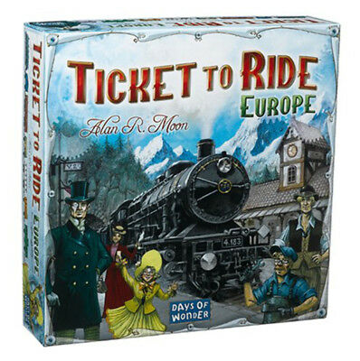 Ticket To Ride Europe Board Game New