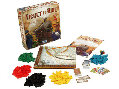 Ticket To Ride Board Game NEW