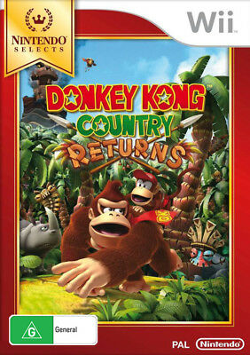 Donkey Kong Country Returns Wii Game NEW
