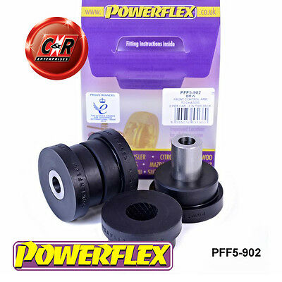 BMW E53 X5 1999-2006 Powerflex Front Control Arm To Chassis Bushes PFF5-902