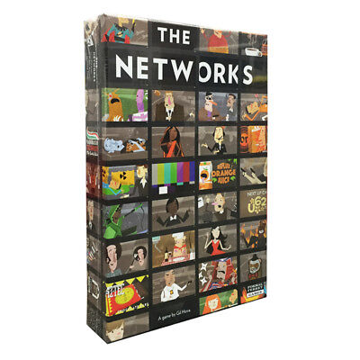 The Networks Board Game NEW
