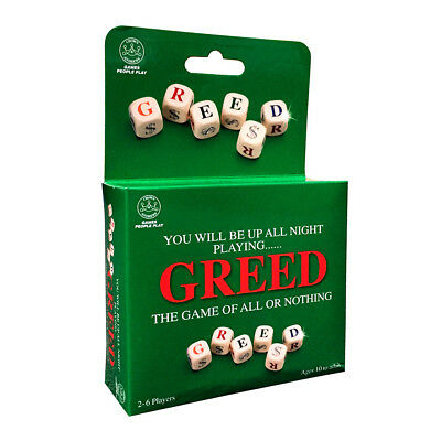 Greed Travel Edition Board Game NEW
