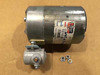 New Haldex-Barnes DC Motor 24V Slot Drive Part No. 2200972 Solenoid Included