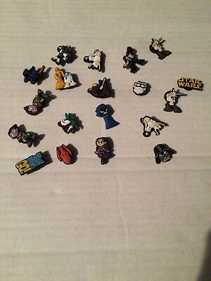 STAR WARS And TEEN TITANS  CHARMS CROC SHOES