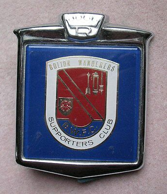 Great Britain Bolton Wanderers Supporters Club Car Badge