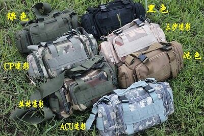 Outdoor Military Tactical Waist Pack Tourism Sport Trekking Camping Hiking Bag