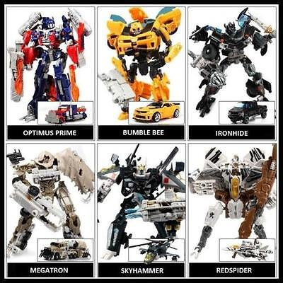 Dark of the Moon Transformers Autobots Optimus Prime etc 6 Action Figures Robot