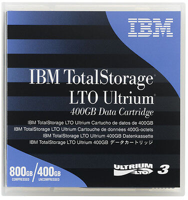 Brand New IBM TotalStorage Ultrium LTO 3 800GB 400GB