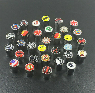 4PCS Mix  Bike Car/Truck Tire/Wheel Stem Air Valve Caps Covers  Y1021