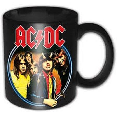 * Acdc Ac/dc - Highway To Hell Logo - Official Boxed Mug