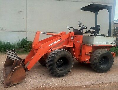 Loader Articulated Hitachi LX30