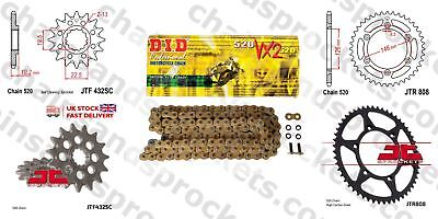 DID- Gold Motorcyle Heavy Duty Kit 15t 41t 520 110 fits Suzuki DR-Z400 SM 05-10