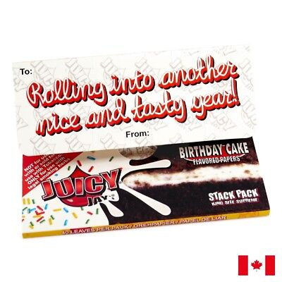 Juicy Jay's Birthday Cake King Size Supreme Rolling  Paper - 1 Pack - 40 Papers